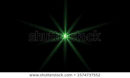 zielone · migotać · promienie · efekt · przezroczystość · streszczenie - zdjęcia stock © pakete