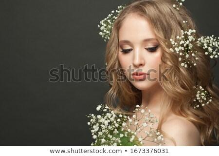 Bride on white background Stock photo © artfotodima