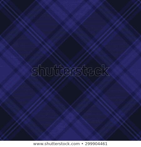 Dark blue tartan diagonal pattern background 1 Stock photo © sanjanovakovic