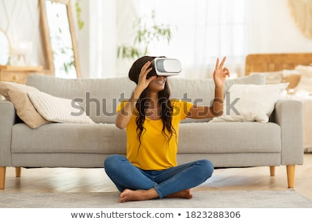 Millennial with Virtual Reality Glasses Stock photo © Jesussanz