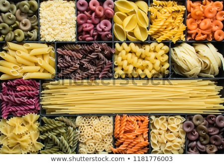 Assorted coloured pasta Stock photo © Digifoodstock