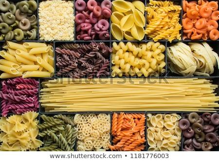 пасты · различный · продовольствие · спагетти · сырой - Сток-фото © Digifoodstock