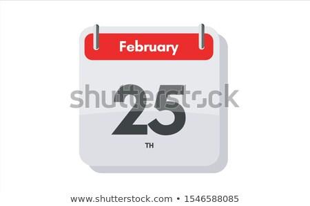 25th February Stock photo © Oakozhan