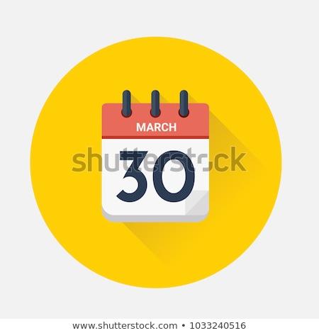 Calendar Good Friday Stock photo © Olena