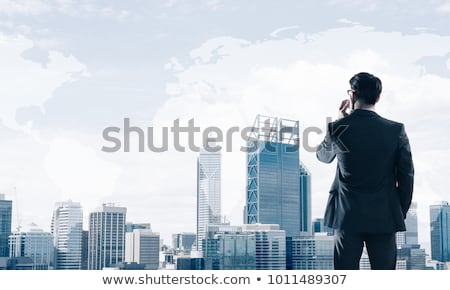 Businessman talking on his mobile phone Stock photo © IS2