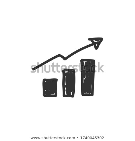 investor concept doodle icons on chalkboard stock photo © tashatuvango