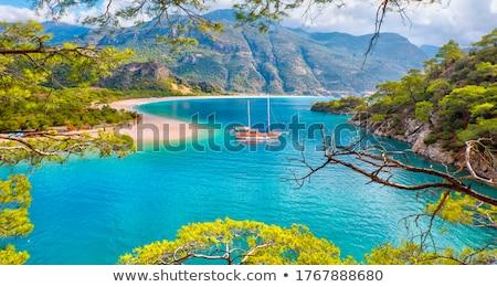海景 トルコ 絵のように美しい 地中海 カラフル 日の出 ストックフォト © Givaga