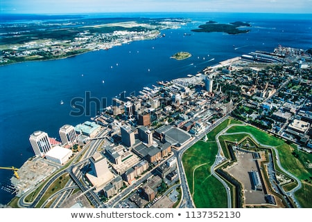 Architecture of Halifax, Nova Scotia Stock photo © benkrut