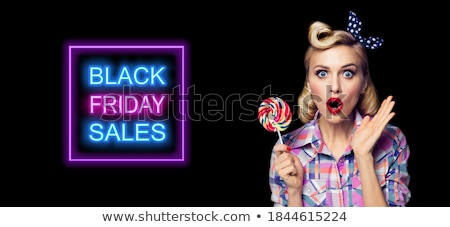 Omg meglepetés diéta képregény rajz pop art Stock fotó © rogistok