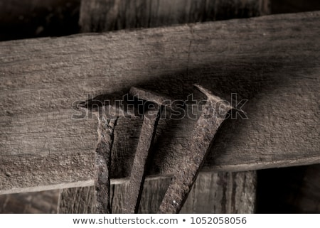 depiction of the holy nails and the holy cross Stock photo © nito