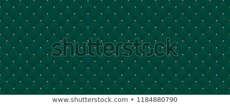retro stars banner on green background stock photo © x7vector
