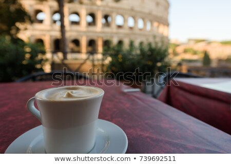 Colosseum in the morning Stock photo © Givaga