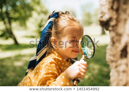 Curious looking girl Stock photo © IS2