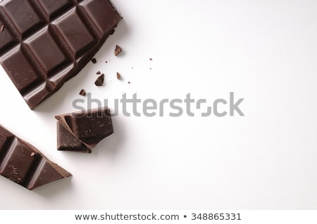 Stock photo: White chocolate and sweet in composition