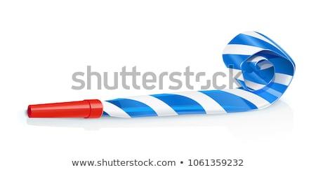 Party whistle icon Stock photo © angelp