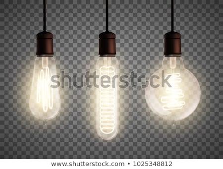 電球 ヴィンテージ セット ベクトル ストックフォト © pikepicture