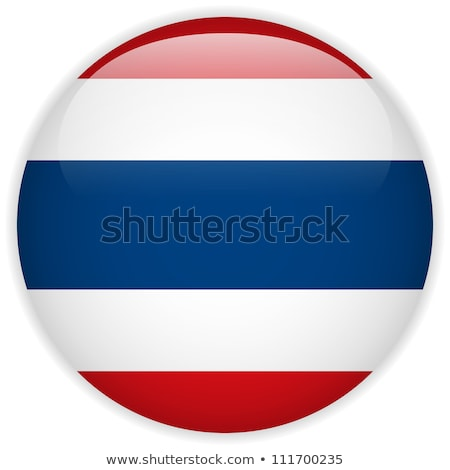 Sticker template for Thailand flag Stock photo © colematt