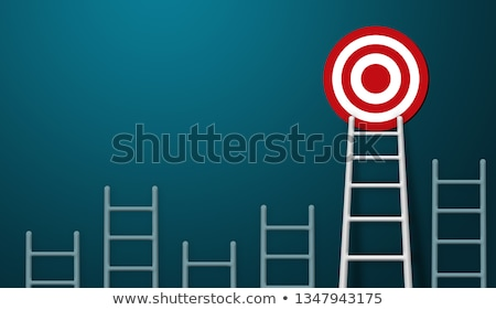 Ladder Target Career Stock photo © limbi007