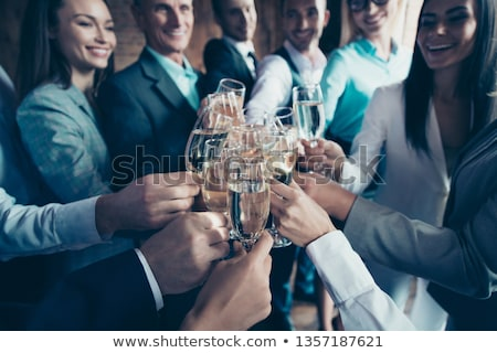 Corporate Party Team Building, Business Workers Stock photo © robuart
