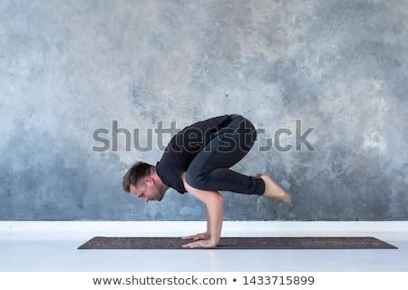 homme · étage · fitness · santé · gymnase - photo stock © pressmaster