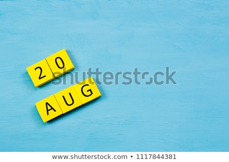 cubes 20th august stock photo © oakozhan