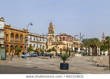 Kerk San Francisco Spanje vierkante Stockfoto © borisb17