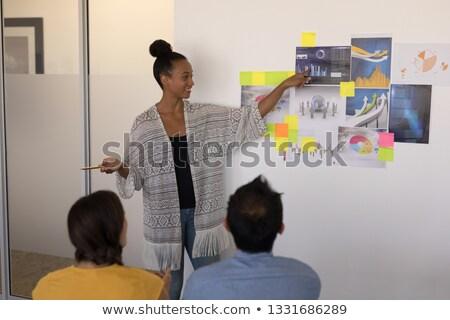 мнение довольно женщины исполнительного Сток-фото © wavebreak_media