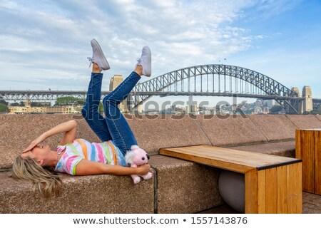 Feliz turísticos circular muelle Sydney Australia Foto stock © lovleah