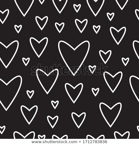 Senza soluzione di continuità amore ripetibile icone vettore pattern Foto d'archivio © ukasz_hampel