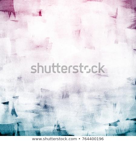 Artystyczny streszczenie tekstury niebieski akryl pędzlem Zdjęcia stock © Anneleven