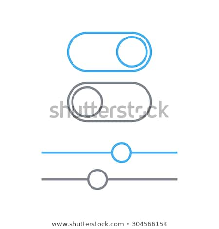 touch panel control icon vector outline illustration Stock photo © pikepicture