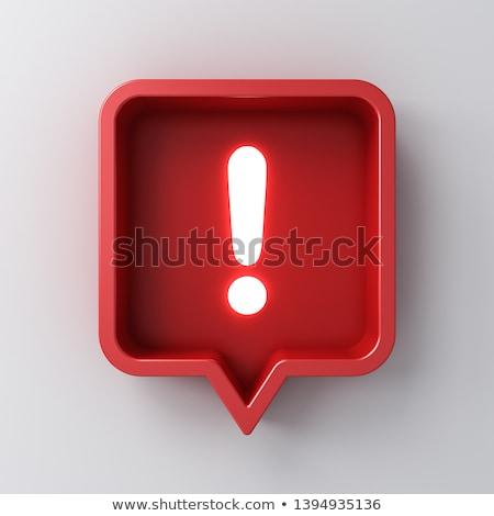 Rosso punto pulsante bianco anello web design Foto d'archivio © hlehnerer