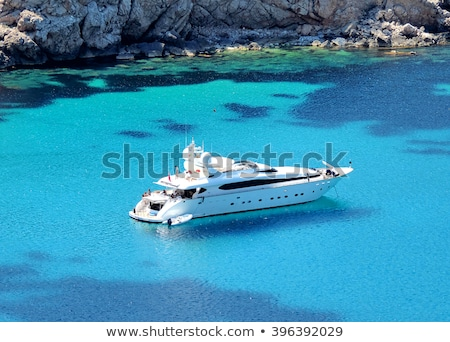 luxury yacht and boats stock photo © goce