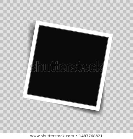 Scrapbook vuota tavolo in legno vettore eps8 illustrazione Foto d'archivio © oliopi
