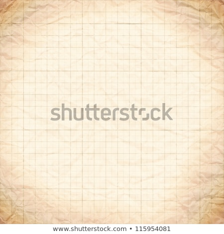 old vintage stained discolored dirty graph paper  stock