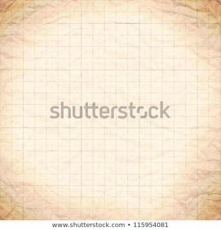 wykres · papieru · starych · vintage · brudne · tle - zdjęcia stock © latent