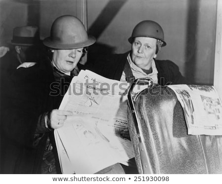 Stock photo: Wartime Newspaper