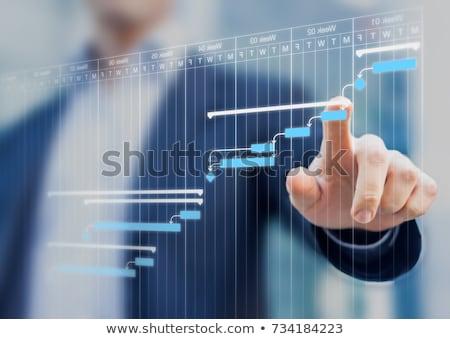 3D · mão · palavra · solução · negócio · abstrato - foto stock © kbuntu