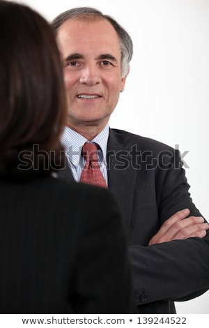Chit chat between two executives. Stock photo © photography33