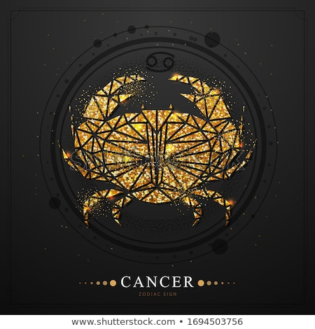 Zodiac sign - cancer Stock photo © Hermione
