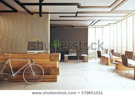 Birtok ügynökség iroda üzlet számítógép munka Stock fotó © photography33