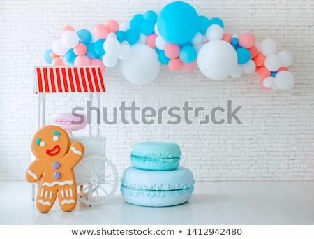 Child with a giant sweet Stock photo © photography33