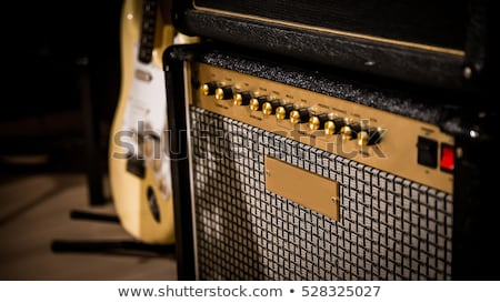 Vintage Guitar Amplifier Stock photo © PetrMalyshev