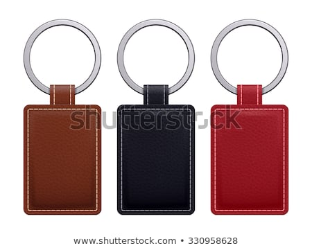 leather key chain stock photo © homydesign