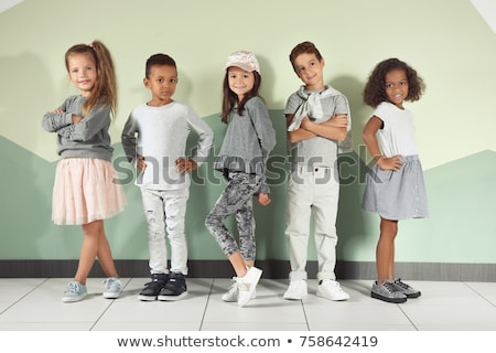 portrait of a girl cool growth stock photo © RuslanOmega