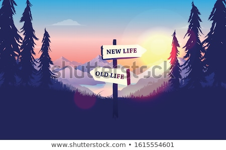 A better life signpost Stock photo © RTimages