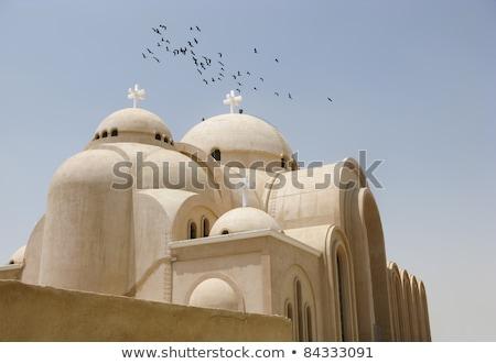 христианской Церкви Каир Египет город Сток-фото © travelphotography