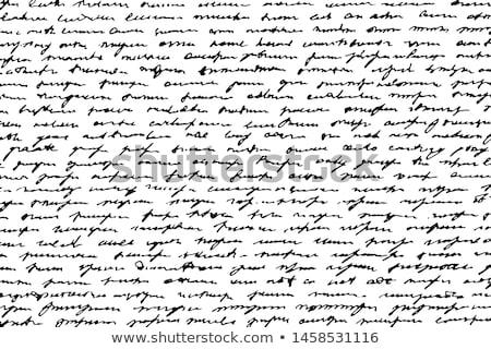 Vieux écriture antique livre Photo stock © winterling