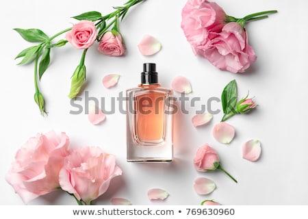 elegant female perfume isolated on white stock photo © gsermek