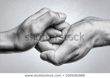 Behulpzaam mannelijke hand witte vergadering werk Stockfoto © vlad_star